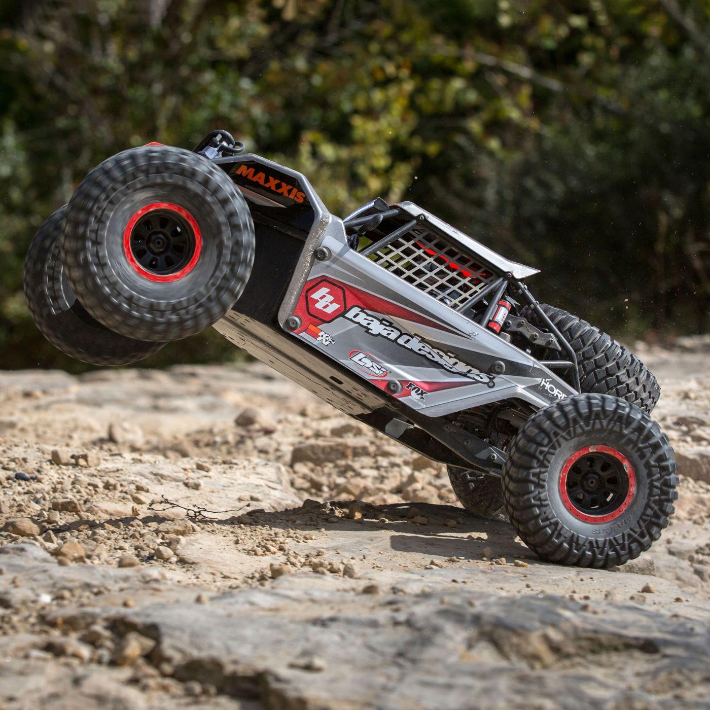 Losi Super Rock Rey Rock Racer brushless avc rtr 4