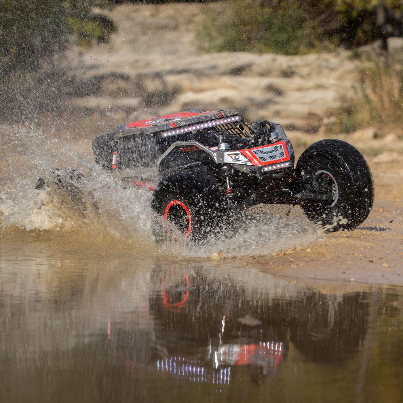 Losi Super Rock Rey Rock Racer brushless avc rtr 5