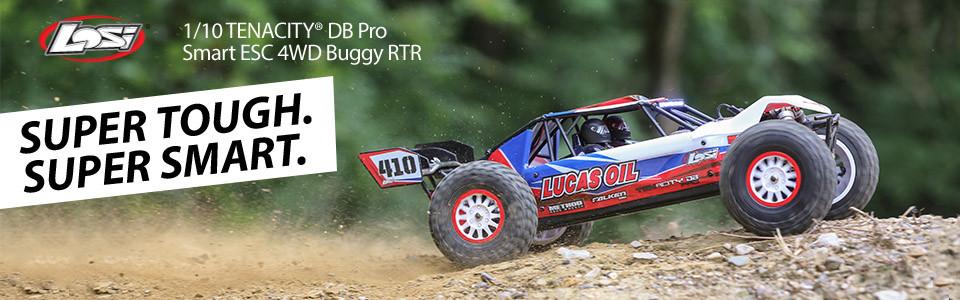 Losi Tenacity DB Pro 4wd Brushless 1/10 RTR 01