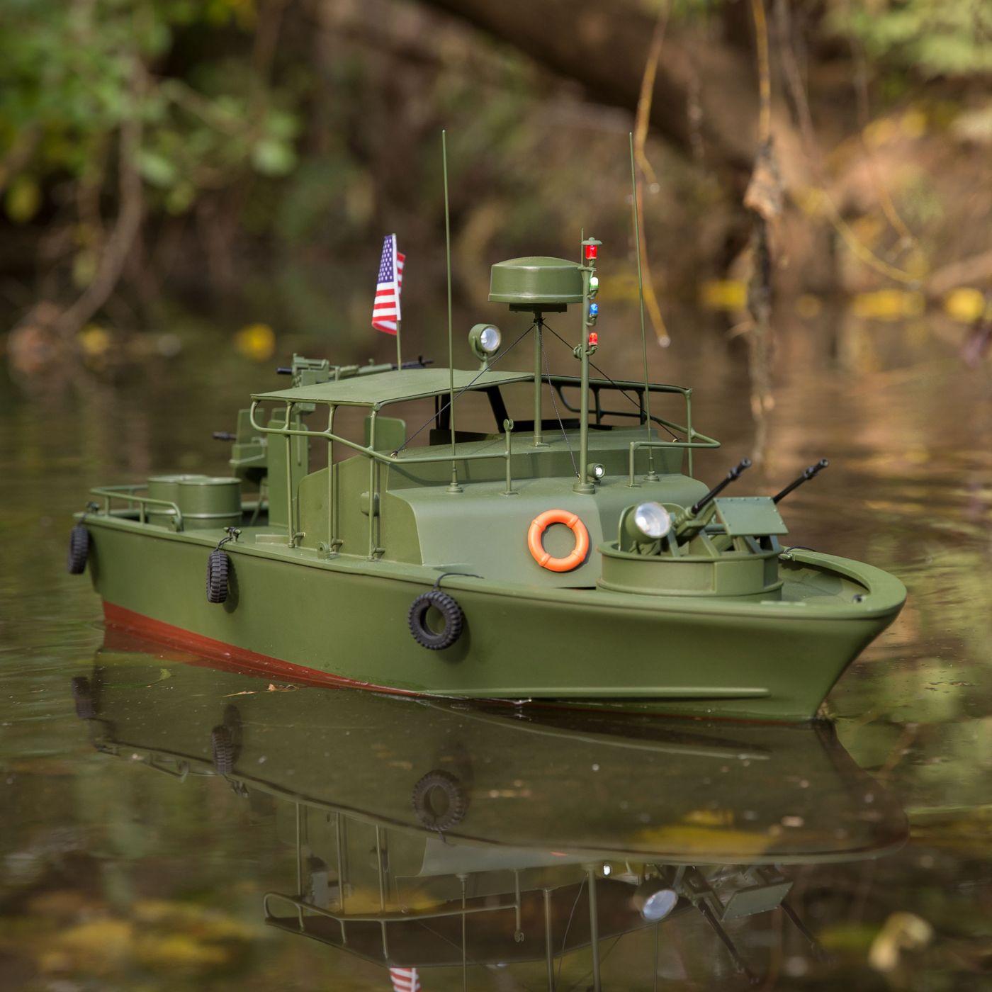 Proboat Alpha Patrol Boat 21 Brushed RTR 01