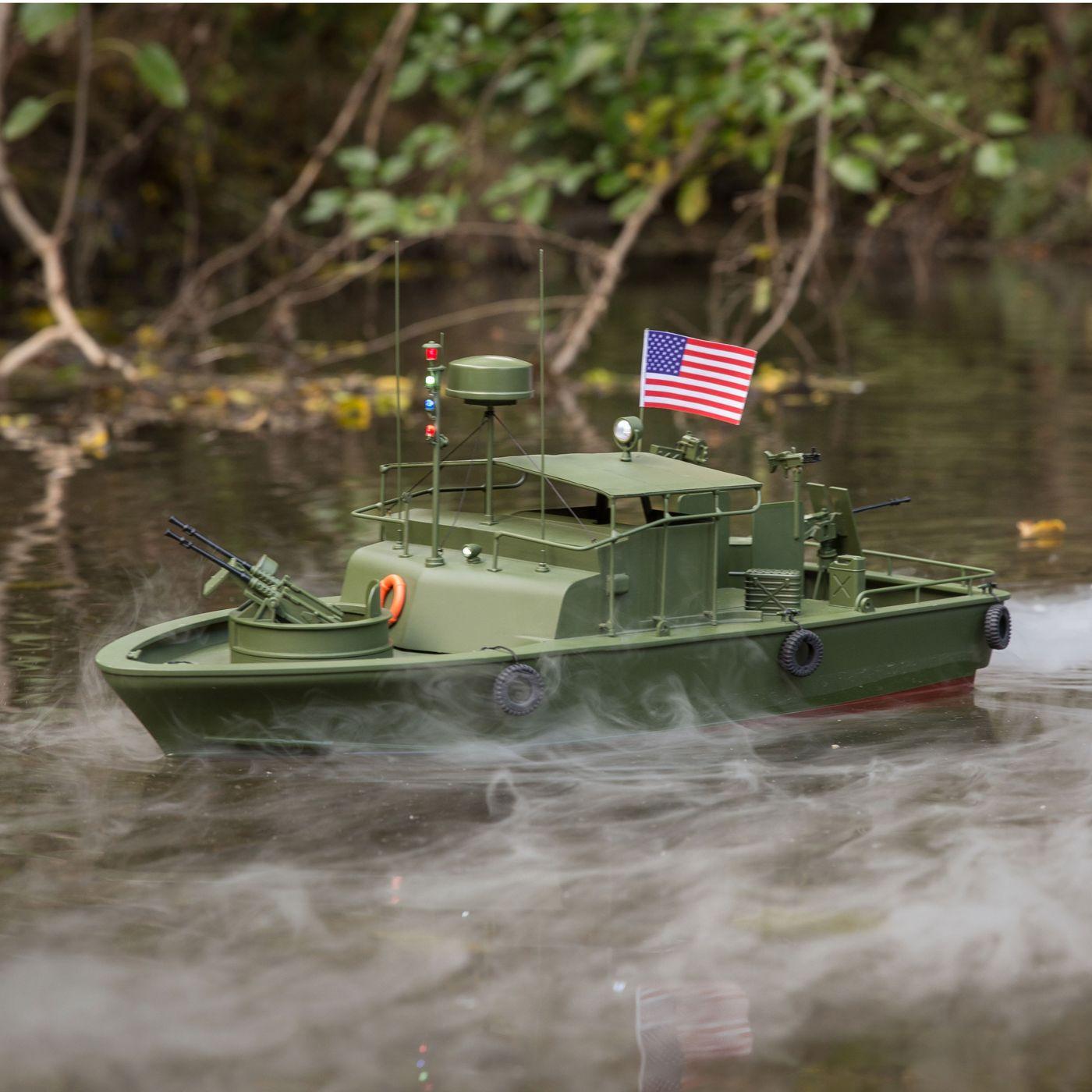 Proboat Alpha Patrol Boat 21 Brushed RTR 02