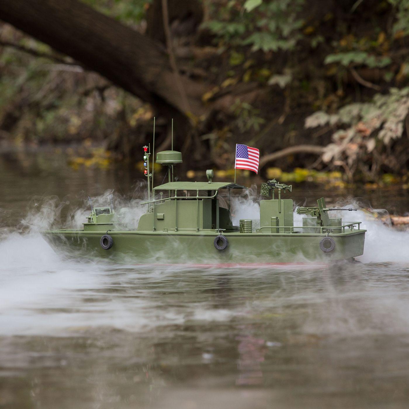 Proboat Alpha Patrol Boat 21 Brushed RTR 03