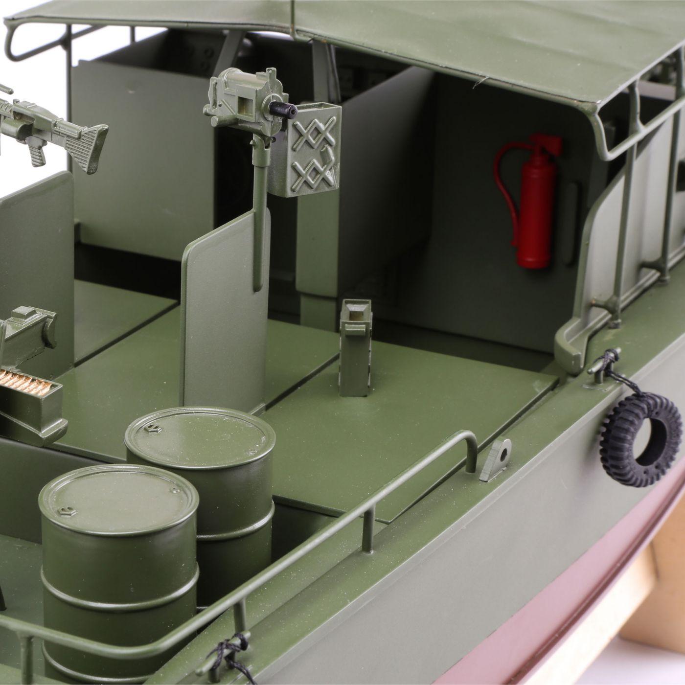 Proboat Alpha Patrol Boat 21 Brushed RTR 04