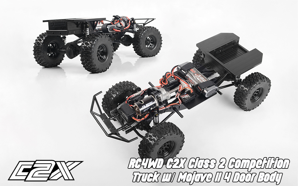 Rc4wd C2X competition scaler crawler 4x4 rtr
