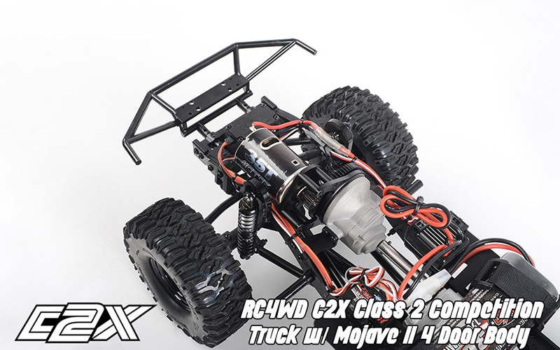 Rc4wd C2X competition scaler crawler 4x4 rtr 4