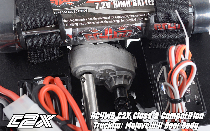 Rc4wd C2X competition scaler crawler 4x4 rtr 5