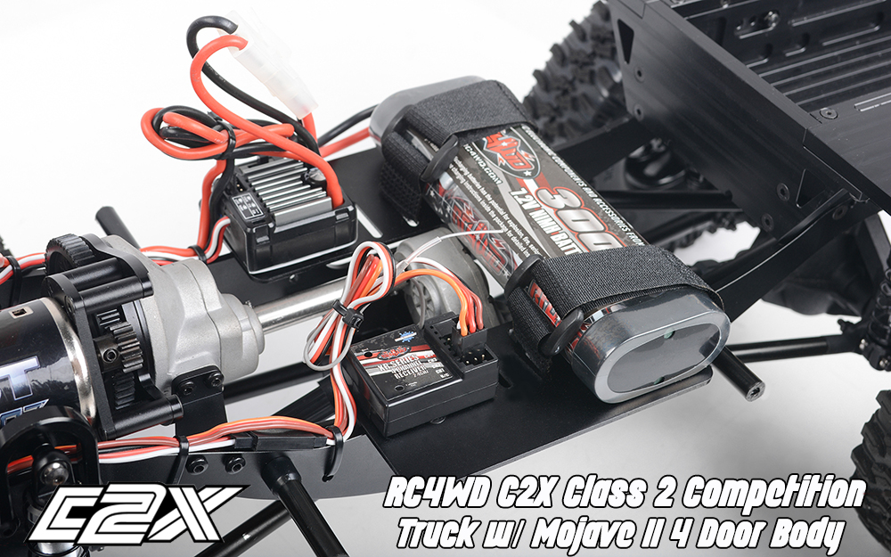 Rc4wd C2X competition scaler crawler 4x4 rtr 7