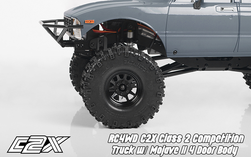 Rc4wd C2X competition scaler crawler 4x4 rtr 9