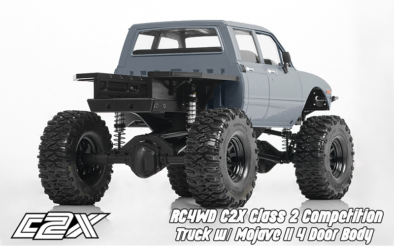 Rc4wd C2X competition scaler crawler 4x4 rtr 12