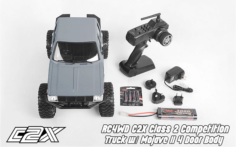 Rc4wd C2X competition scaler crawler 4x4 rtr 14