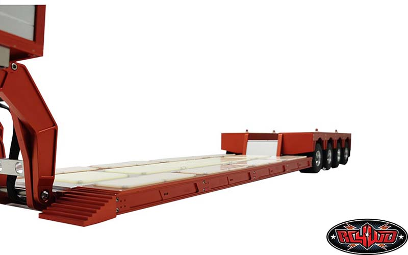 heavy duty 4 axle rimorchio 18
