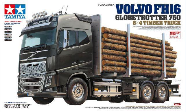 Tamiya Kit Camion Volvo FH16 Globetrotter Timber Truck 1/ 14