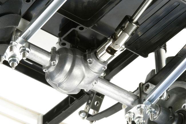 Tamiya Bruiser 4x4 Truck 1-14 kit 6