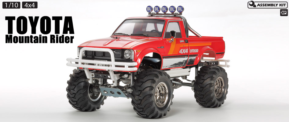 Tamiya Mountain Raider Limited 4x4 Truck 1-14 kit