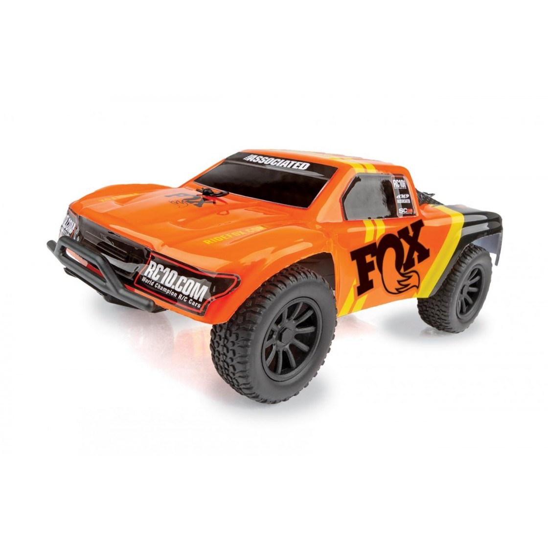 team associated Fox Factory SC28 Off-Road 2WD RTR 01
