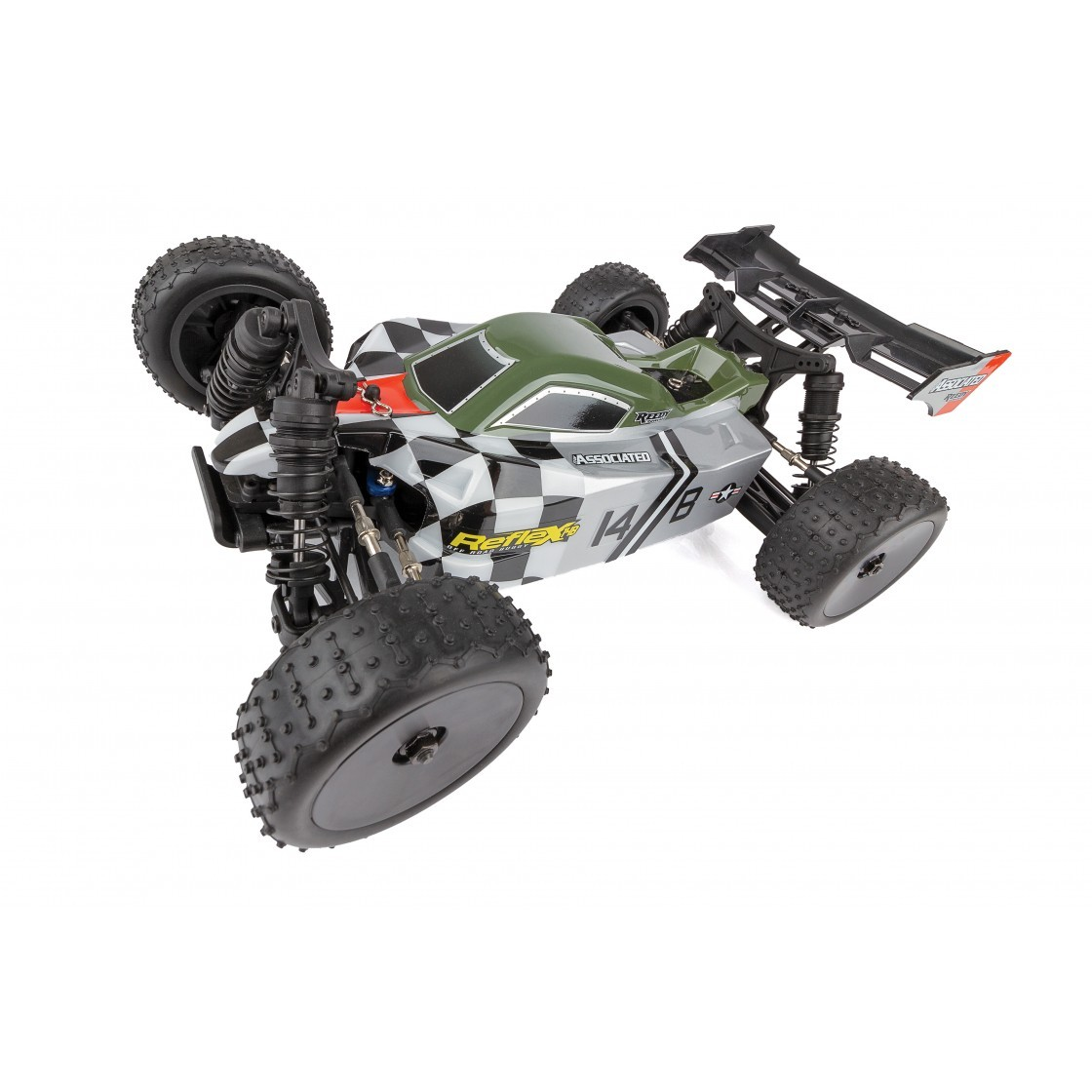 Team Associated Reflex 1-14 Buggy Brushless 4WD RTR 01