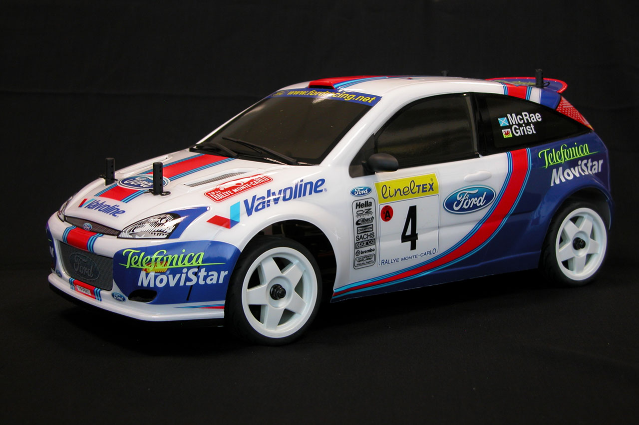 The Rally Legends Ford Focus WRC Mc Rae Grist RTR main