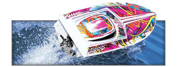 Traxxas Blast 2019 rc race boat rtr tq 01