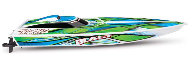 Traxxas Blast 2019 rc race boat rtr tq 03