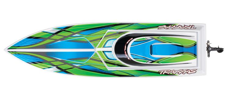 Traxxas Blast 2019 rc race boat rtr tq 05