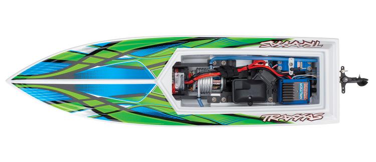 Traxxas Blast 2019 rc race boat rtr tq 06