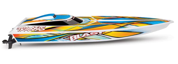 Traxxas Blast 2019 rc race boat rtr tq 03b