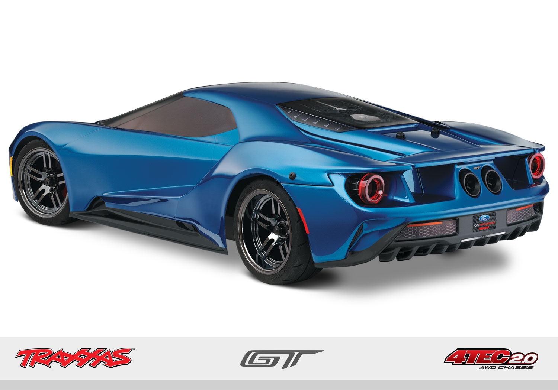 Traxxas Strada Ford GT Telaio 4Tec 2.0 rtr 2