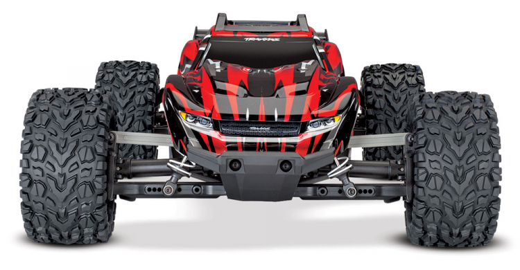 Traxxas Rustler 4x4 Brushed Red rtr 01