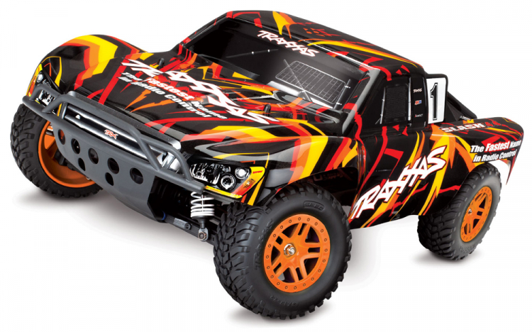 Traxxas Slash 4wd rtr brushed tq 01
