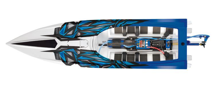 Traxxas Spartan rtr brushless boat tsm 03