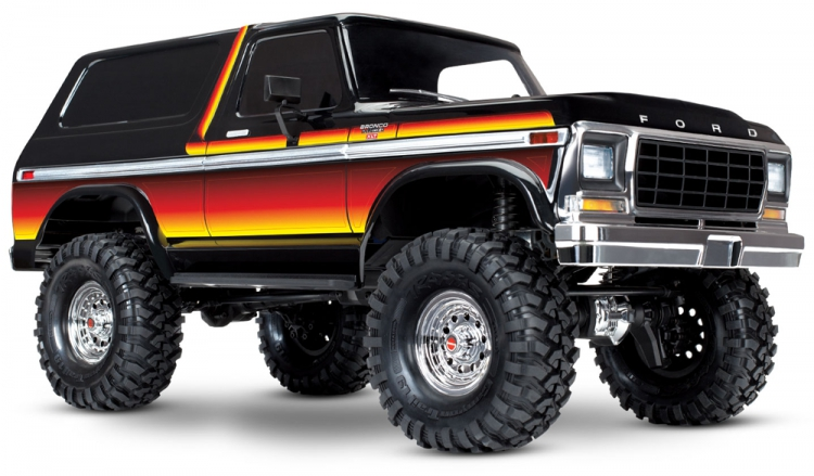 Traxxas TRX4 Ford Bronco Scaler 4x4 rtr 1
