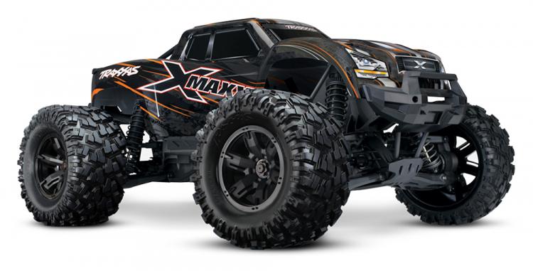 Traxxas X-Maxx 8s orange rtr 01