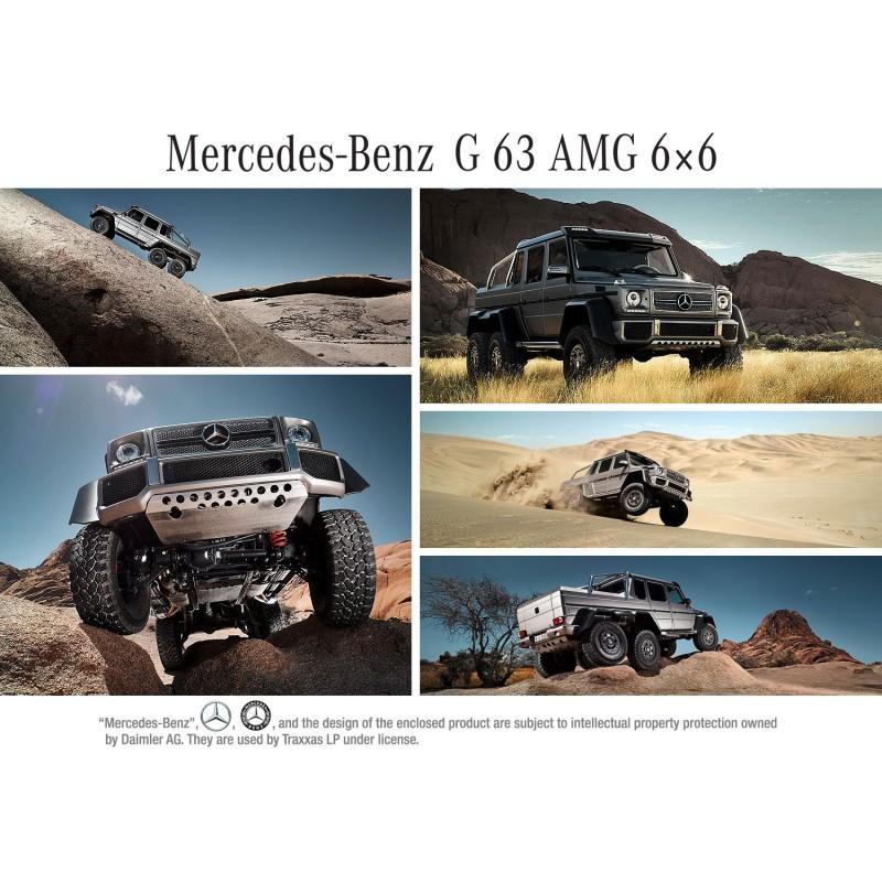 Traxxas TRX6 Mercedes g63 amg 6x6 Rc 6x6 rtr 4